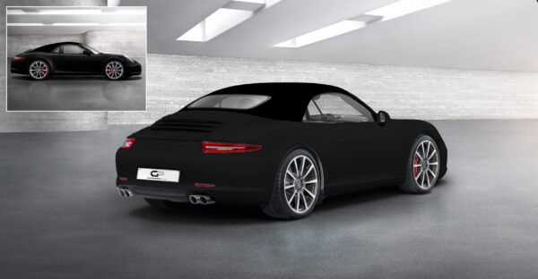 Black Top Black Car